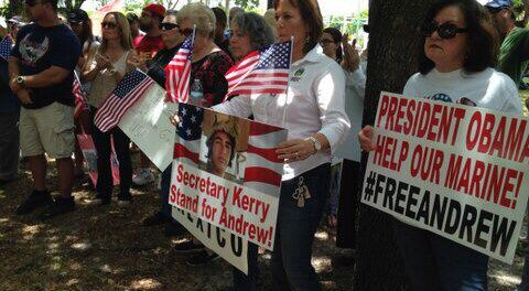 May 31st Miami, FL., Free Marine Sgt. Andrew Tahmooressi rally!