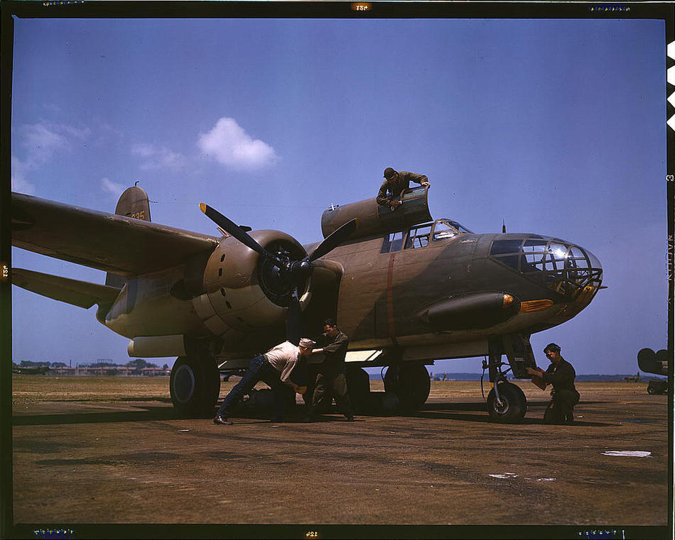 a20 bomber langely field 1942